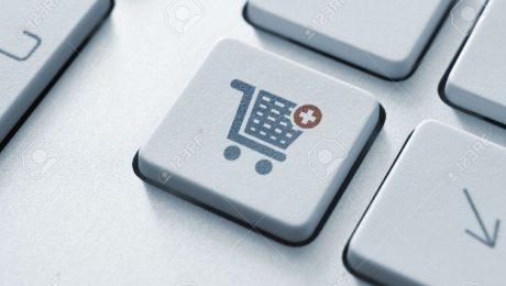 Carro compras teclado